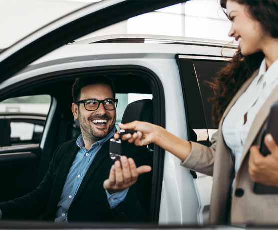 PURCHASE OF A NEW CAR FROM A CAR AGENT OR A DEALERSHIP